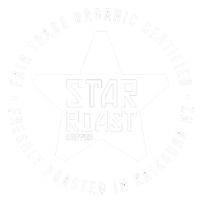 Certified Organic Fair Trade Coffee roasted in Kaikoura